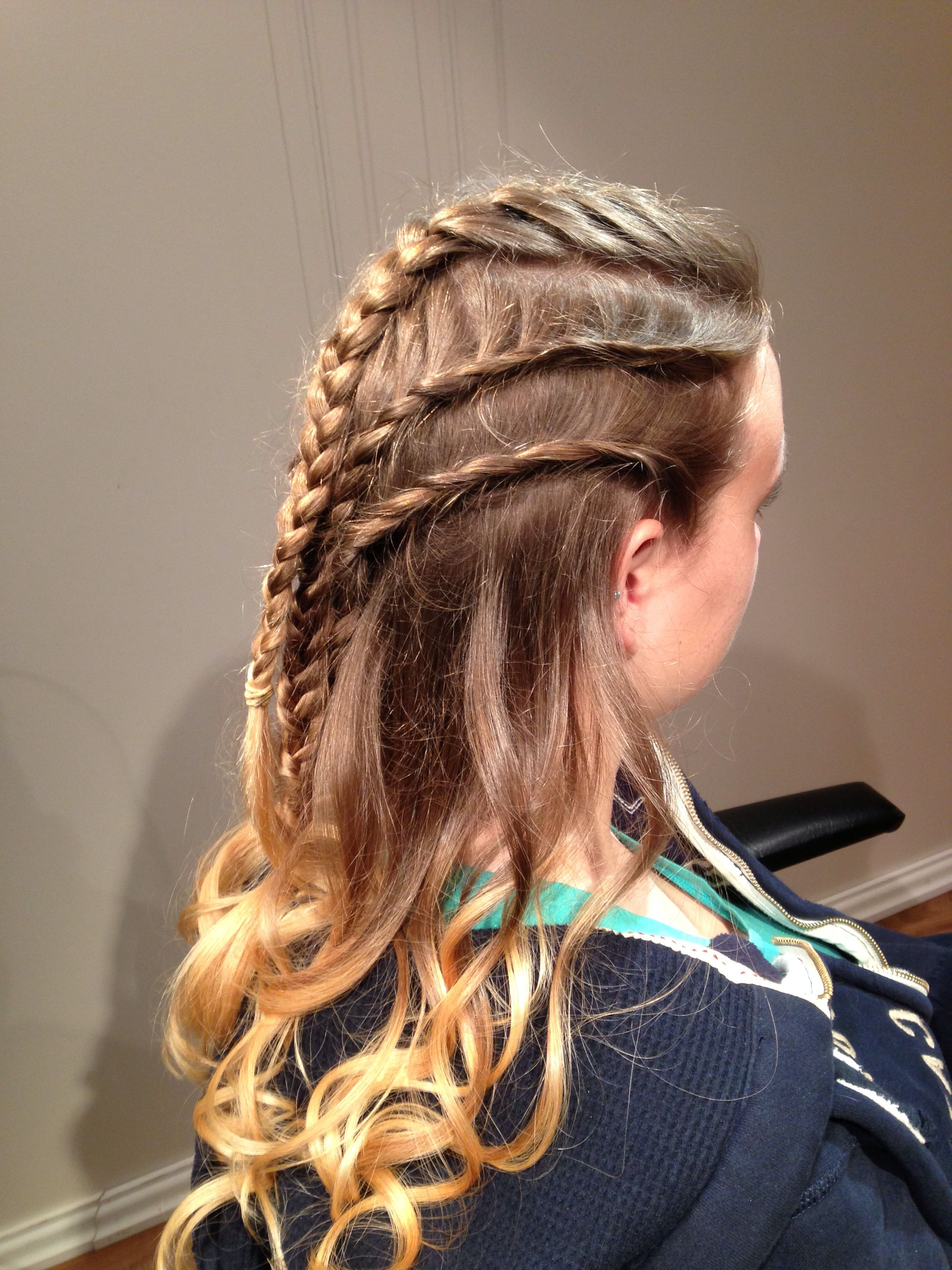Fashionable Mermaid Inception Braid Hairstyles Regarding Medieval Braiding (View 6 of 20)