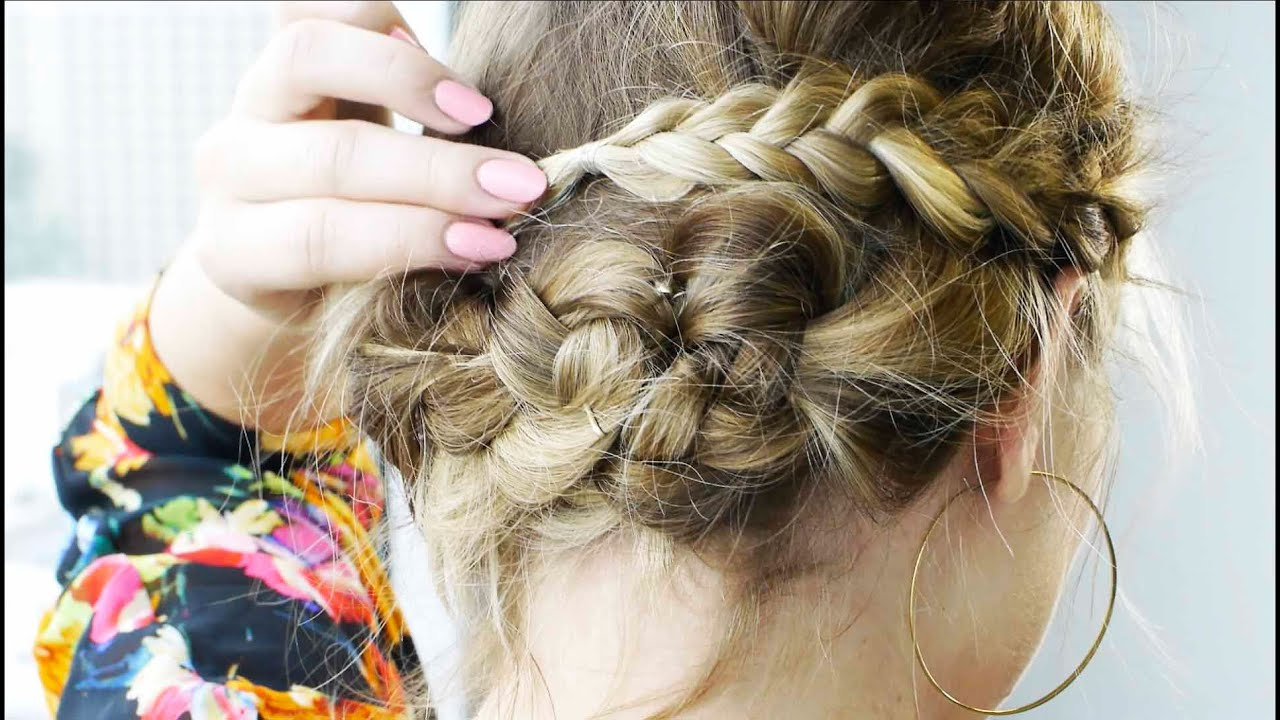 Fashionable Multi Braid Updo Hairstyles Throughout 5 Best Hairstyles For Thick Hair – Best Thick Hair Hairstyle (View 19 of 20)