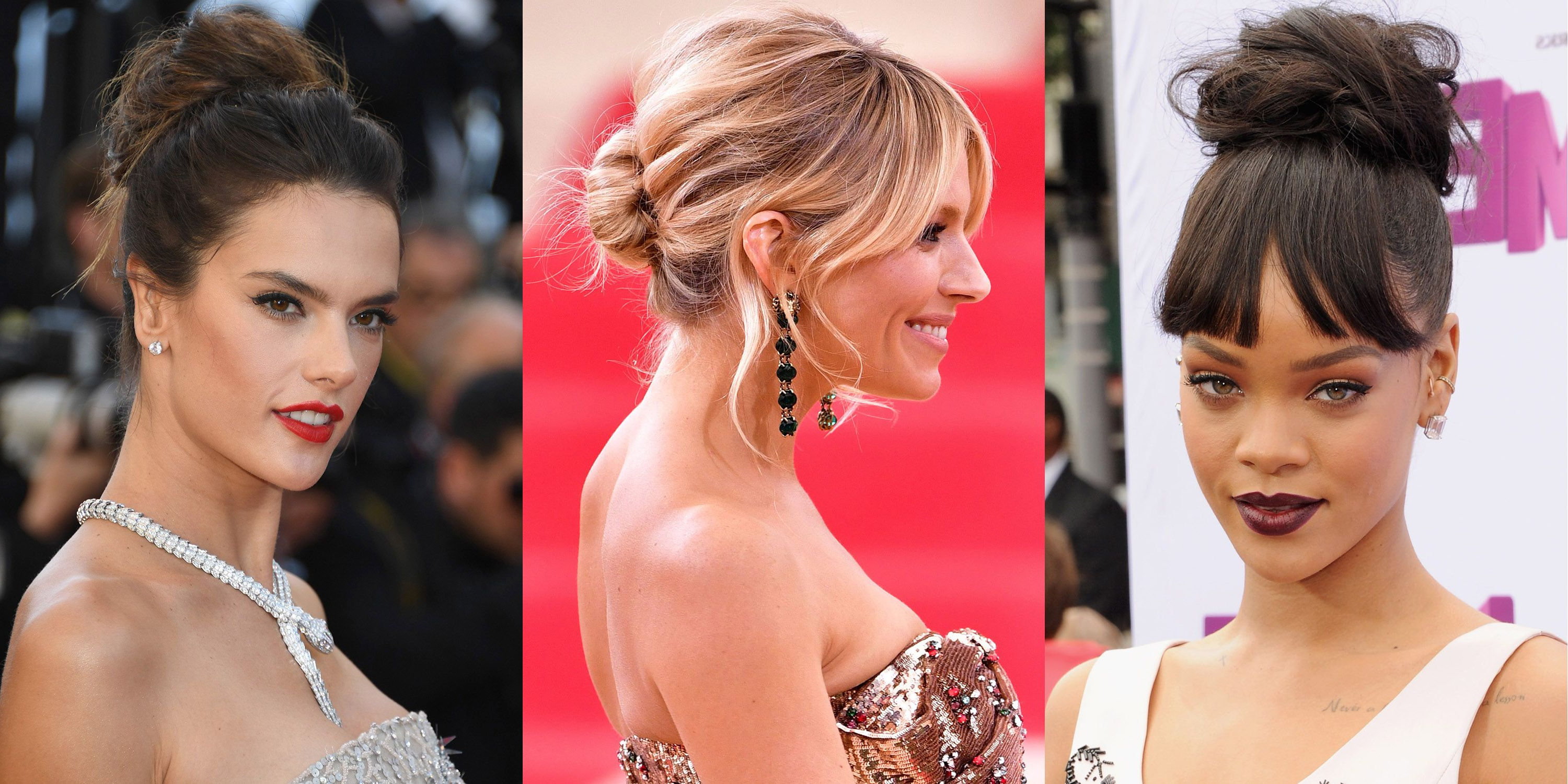 Fashionable Stacked Mini Buns Hairstyles Throughout Best Messy Bun Hairstyle Ideas – Celebrity Messy Buns We (View 11 of 20)