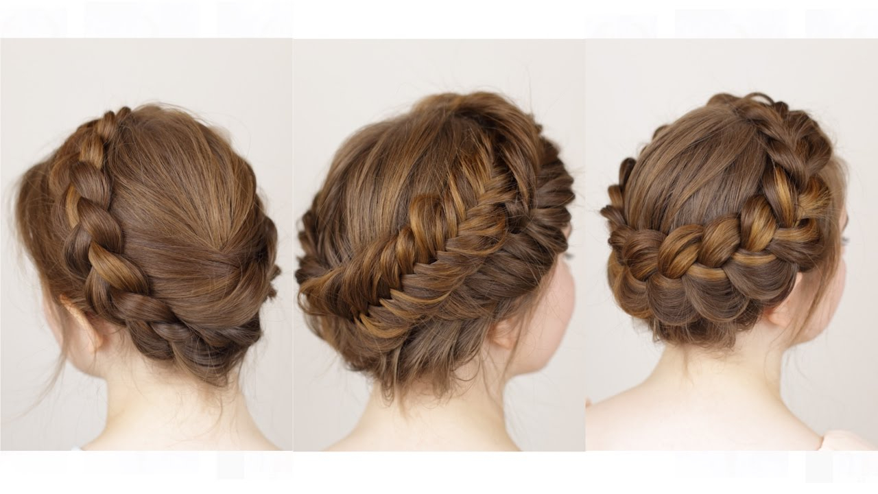 Favorite Angular Crown Braided Hairstyles With Regard To 3 Ways To Do A Crown Braid (View 2 of 20)
