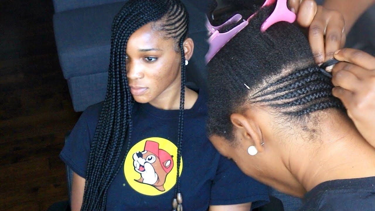 Favorite Classic Style Lemonade Braided Hairstyles Regarding 30 Hypnotic Small, Medium & Big Lemonade Braid Styles (View 14 of 20)