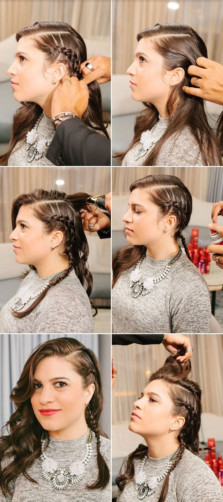 Favorite Faux Undercut Braided Hairstyles With Faux Undercut Braided Hairstyle Diy How To (View 2 of 20)
