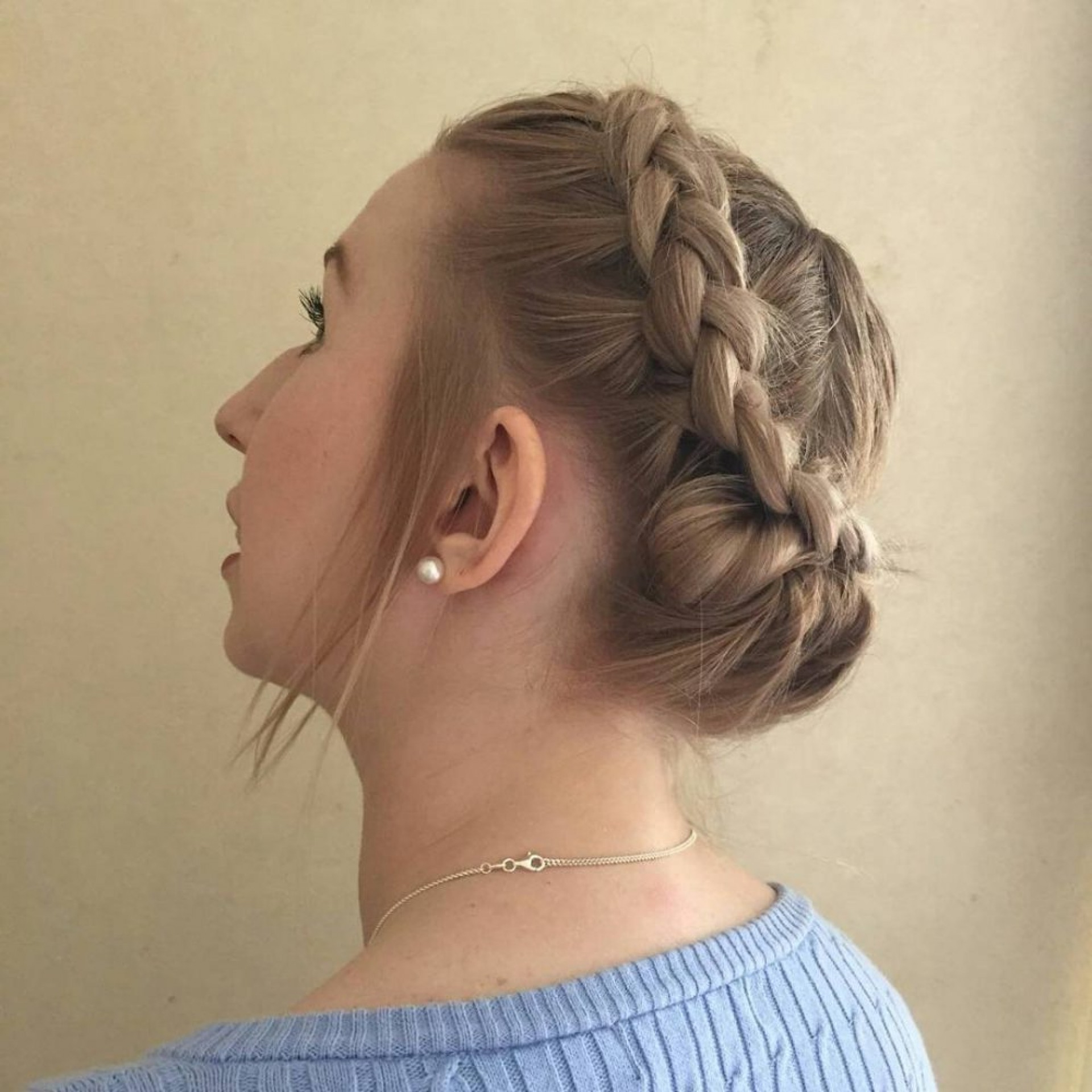 Favorite Halo Braided Hairstyles With Bangs With Regard To 011 Short Hairstyles Fancy For Hair Dutch Halo Braid (View 6 of 20)