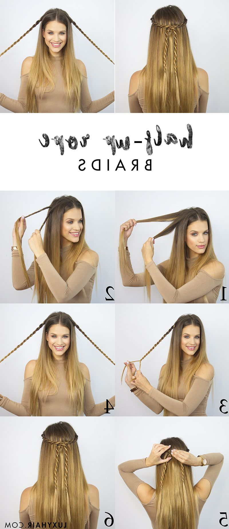 Favorite High Rope Braid Hairstyles In Pin On H U R R R R (View 6 of 20)