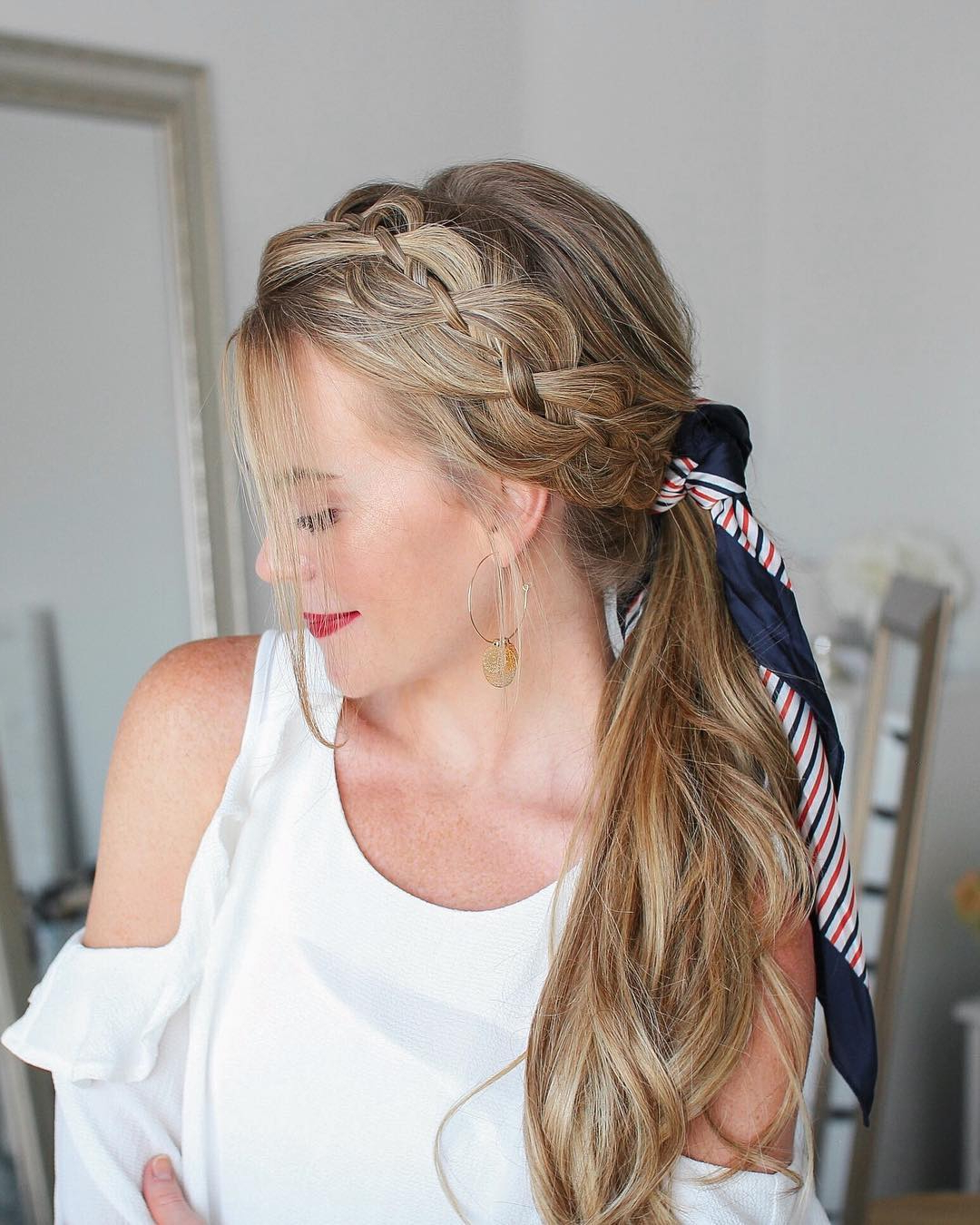 Favorite Long Hairstyles With Multiple Braids Throughout 10 Creative Ponytail Hairstyles For Long Hair, Summer (View 7 of 20)