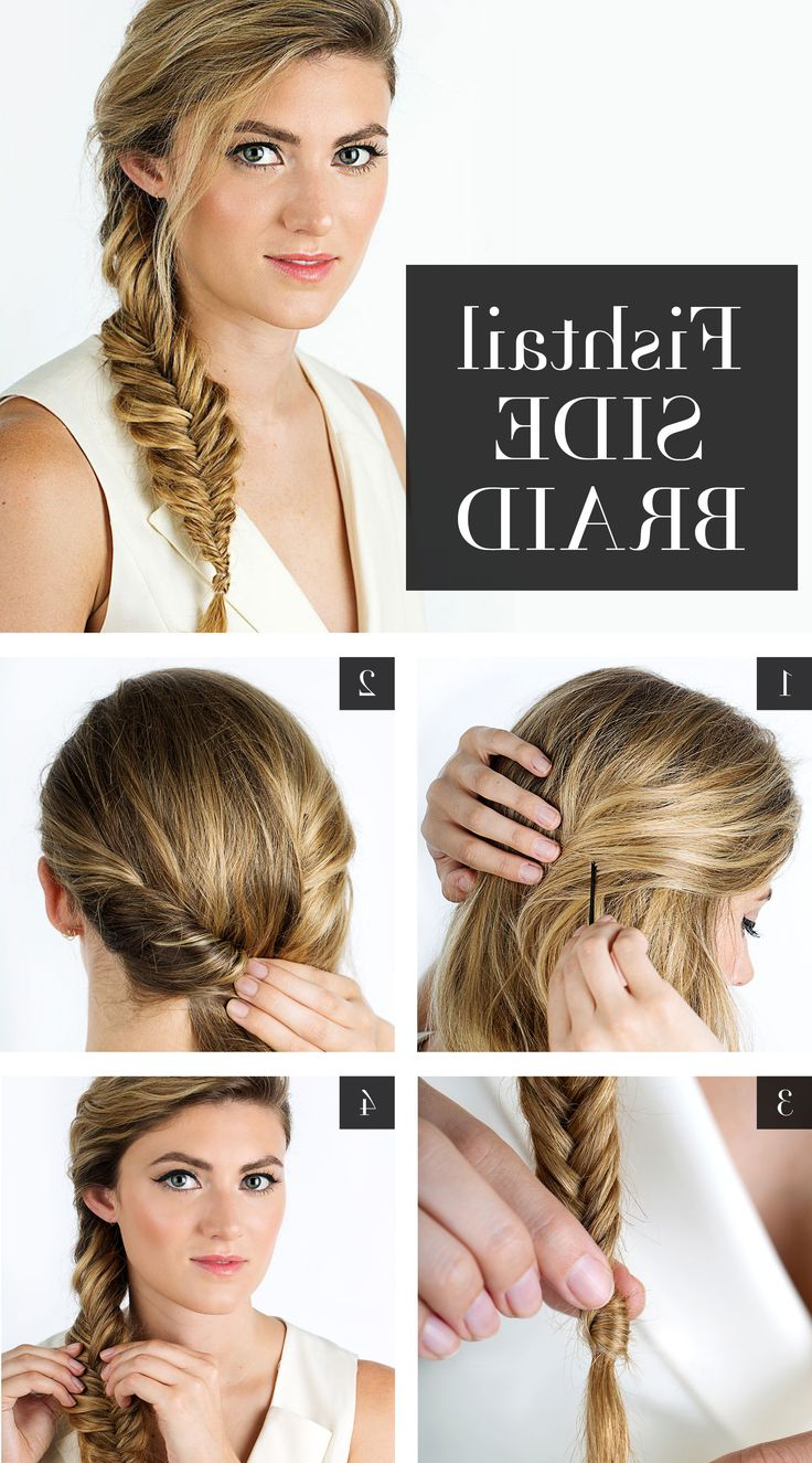 Favorite Messy Side Fishtail Braided Hairstyles Regarding 15 Cute Fishtail Braids You Should Not Miss – Pretty Designs (View 13 of 20)