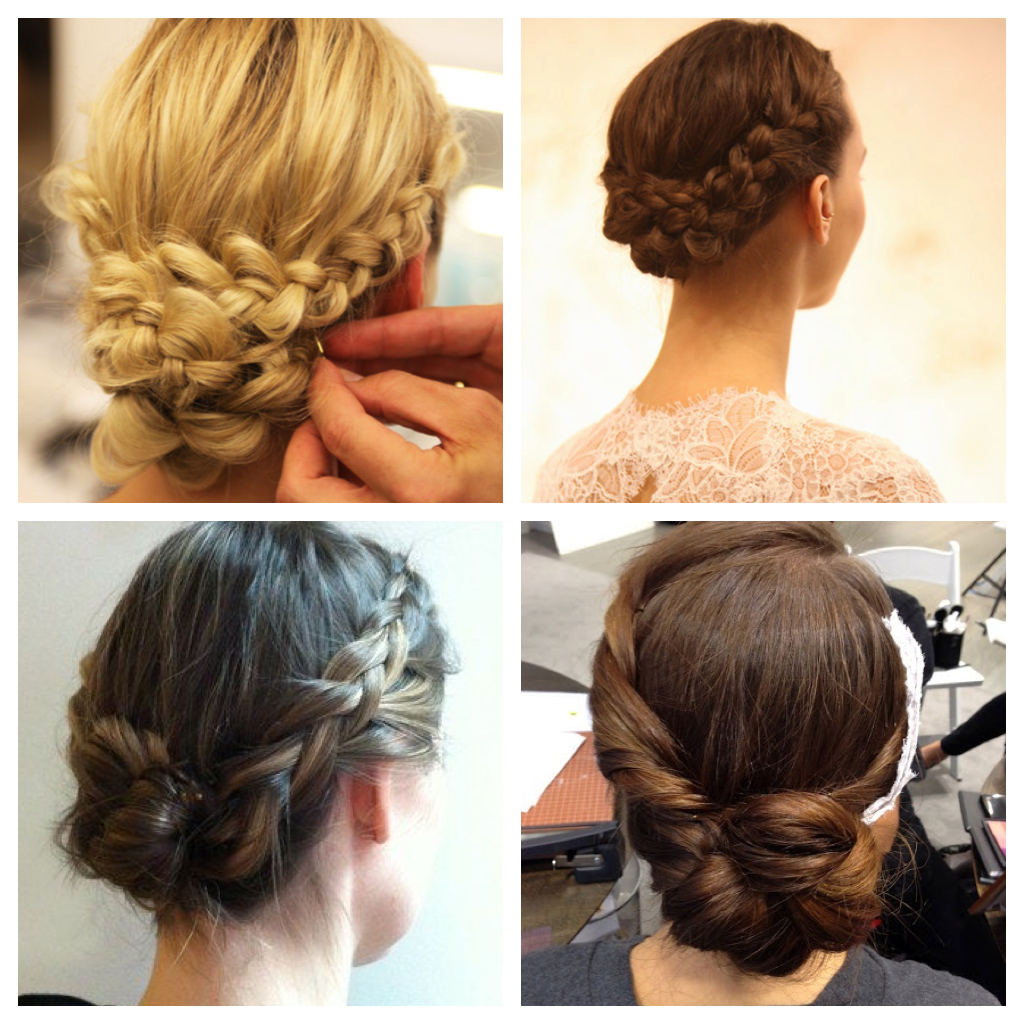 Favorite Plaited Chignon Braided Hairstyles Inside Stylenoted (View 8 of 20)