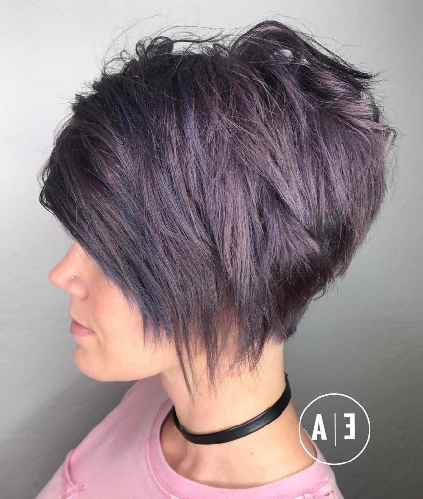 Favorite Purple Pixies Bob Braid Hairstyles Intended For 100 Mind Blowing Short Hairstyles For Fine Hair In  (View 11 of 20)