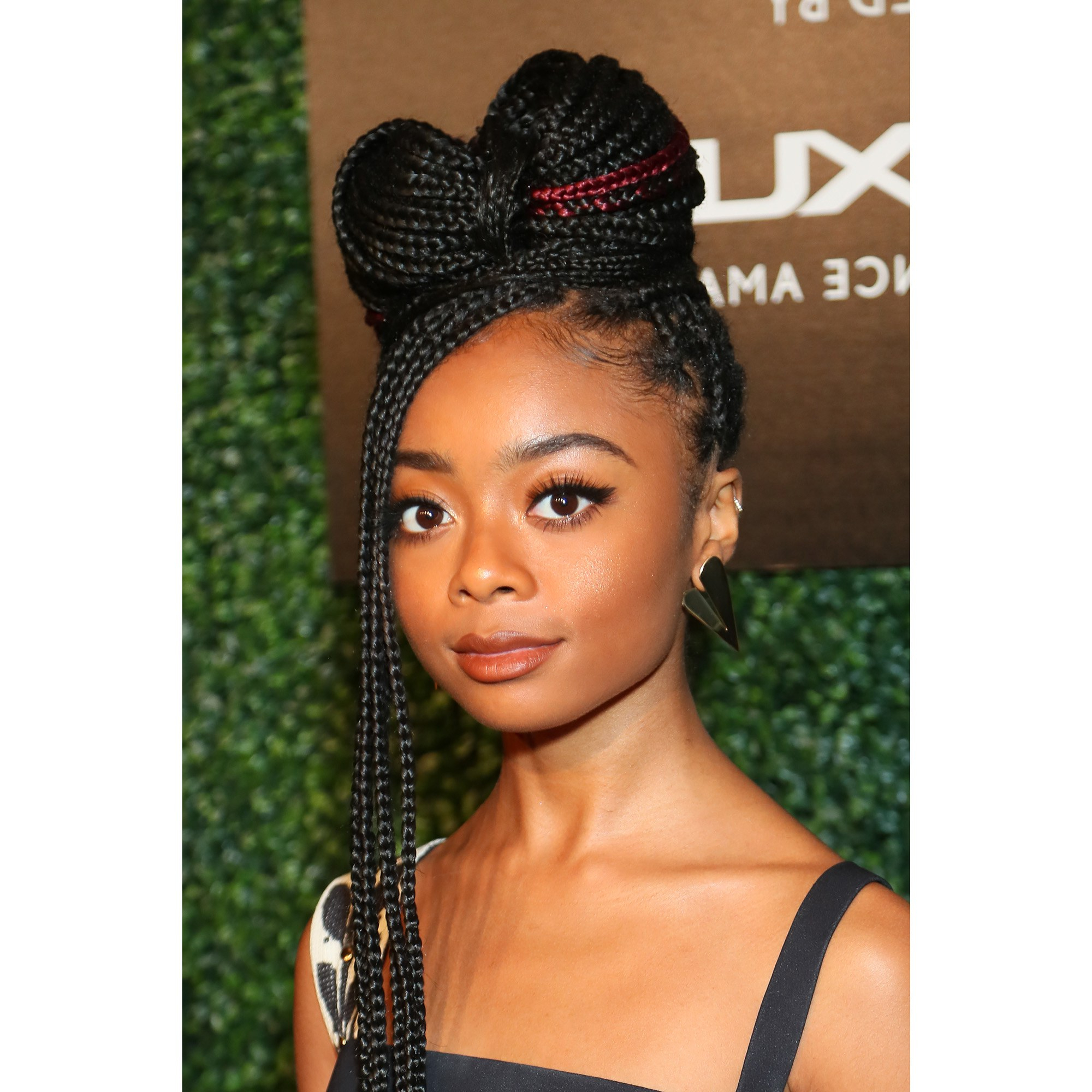 Favorite Two Tone Tiny Bob Braid Hairstyles Throughout 21 Dope Box Braids Hairstyles To Try (View 17 of 20)