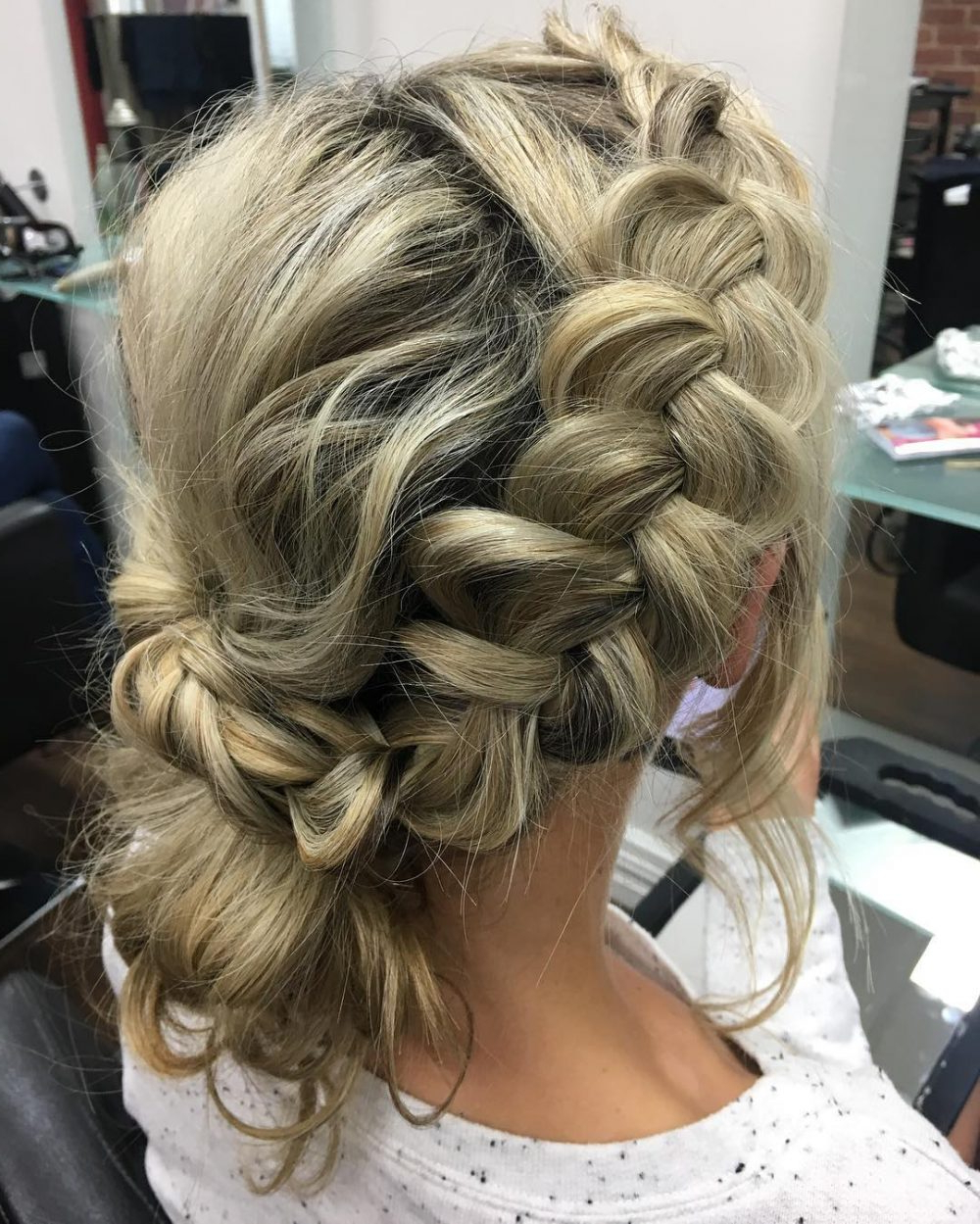 Favorite Vintage Inspired Braided Updo Hairstyles For Top 19 Bohemian Hairstyles Trending In (View 8 of 20)