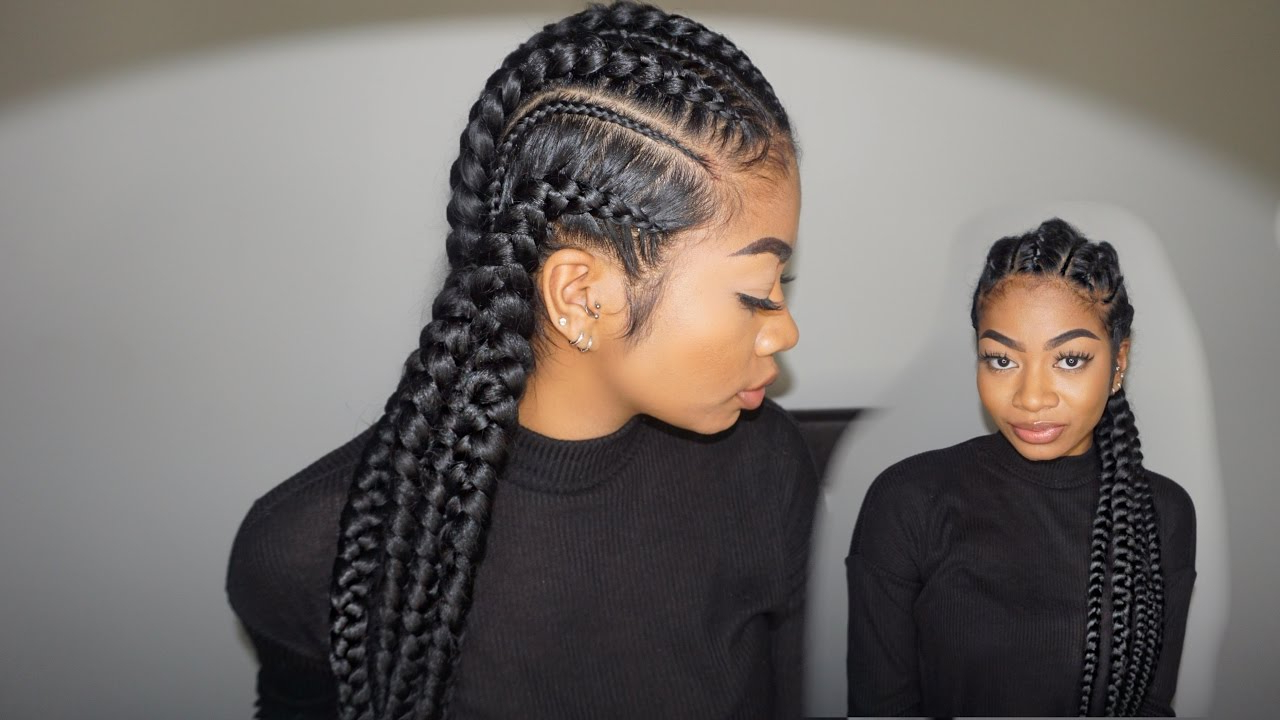Feed In Cornrows!: Maintenance, Itchy Scalp, Sleeping Routine Within Widely Used Thin And Thick Cornrows Under Braid Hairstyles (View 12 of 20)
