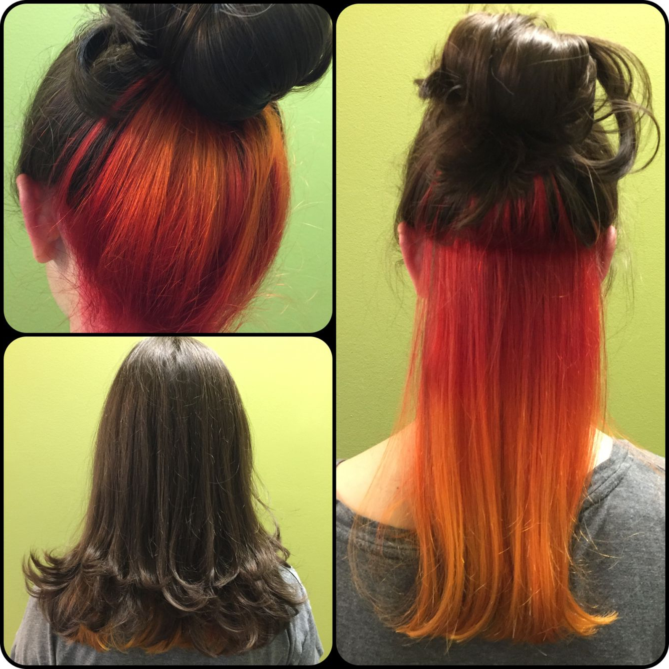 Fire Inspired Hair (View 7 of 20)