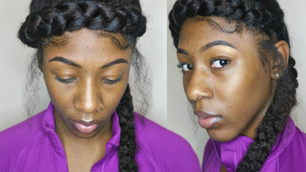 For Short/ Medium Hair Intended For Well Known Faux Halo Braided Hairstyles For Short Hair (View 9 of 20)