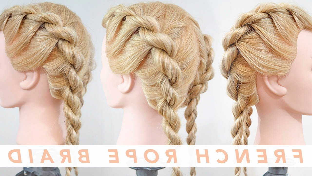 French Rope Braid Stepstep (View 2 of 20)
