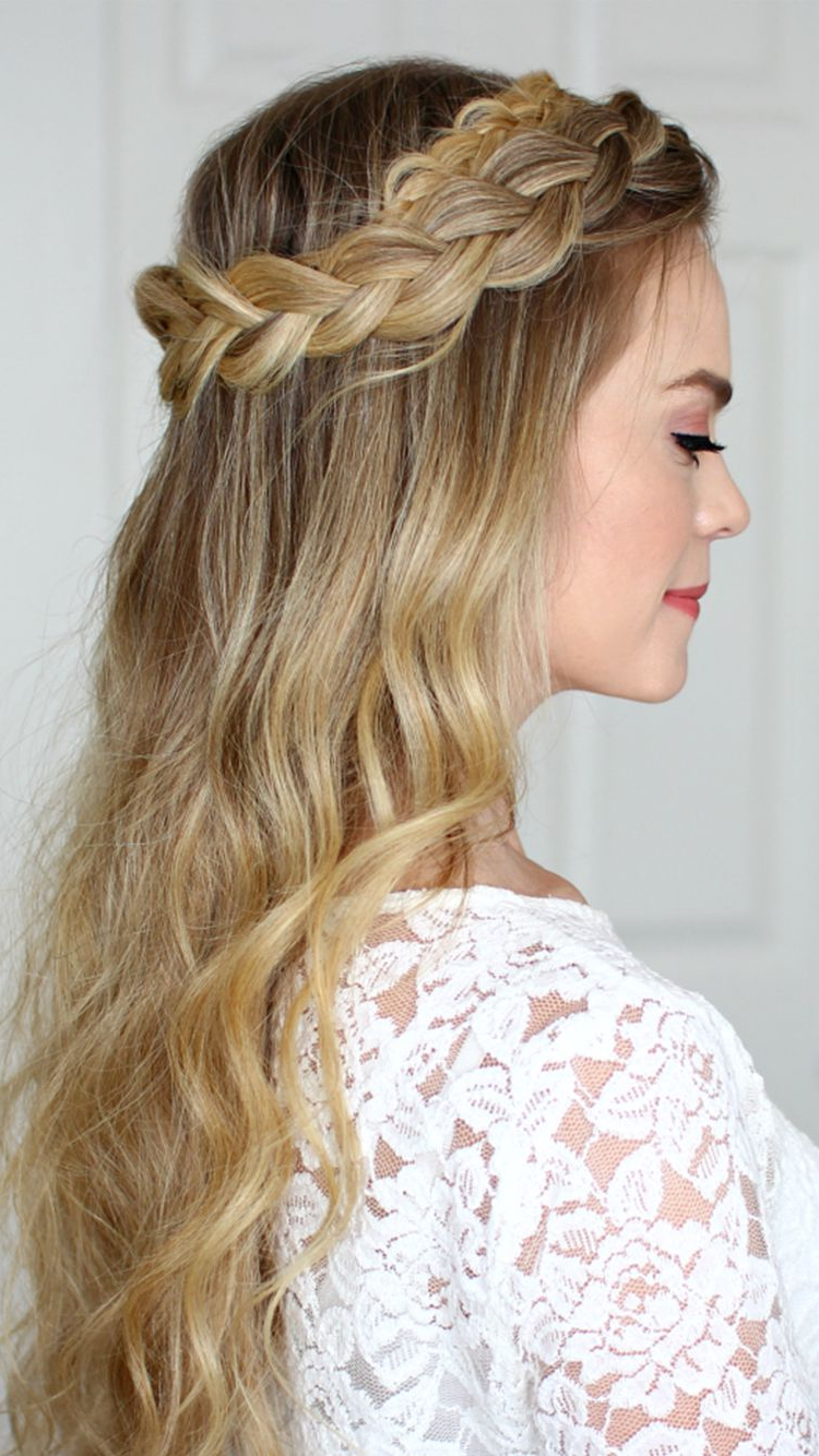 From Ancient Greeks, Celts, Vikings, To Frida Kahlo, The Throughout Fashionable Voluminous Halo Braided Hairstyles (View 10 of 20)