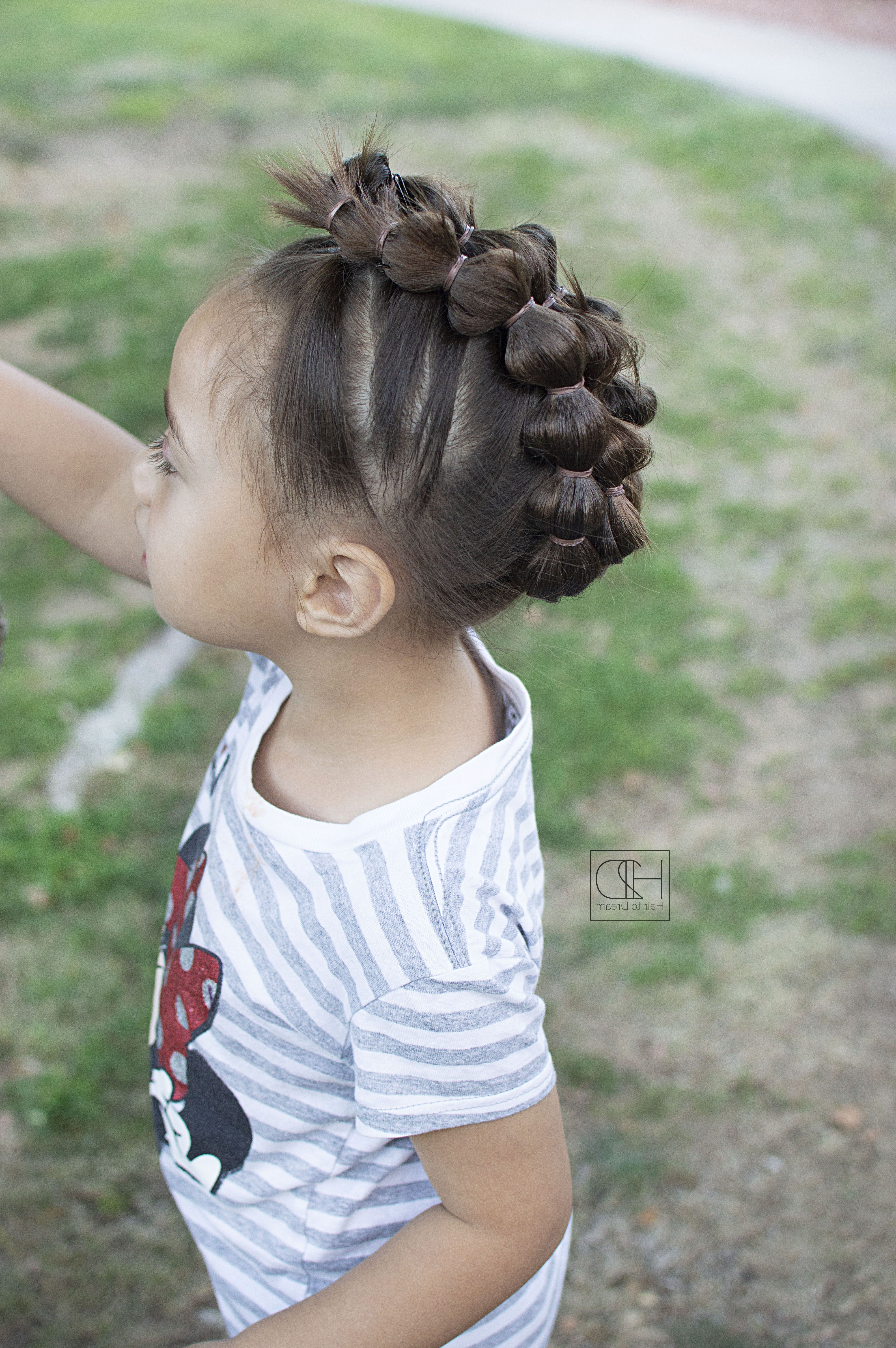 Fun Bubble Braid Mohawk (View 11 of 20)