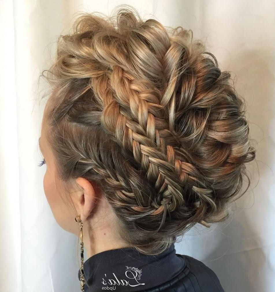 Featured Photo of Multi Braid Updo Hairstyles