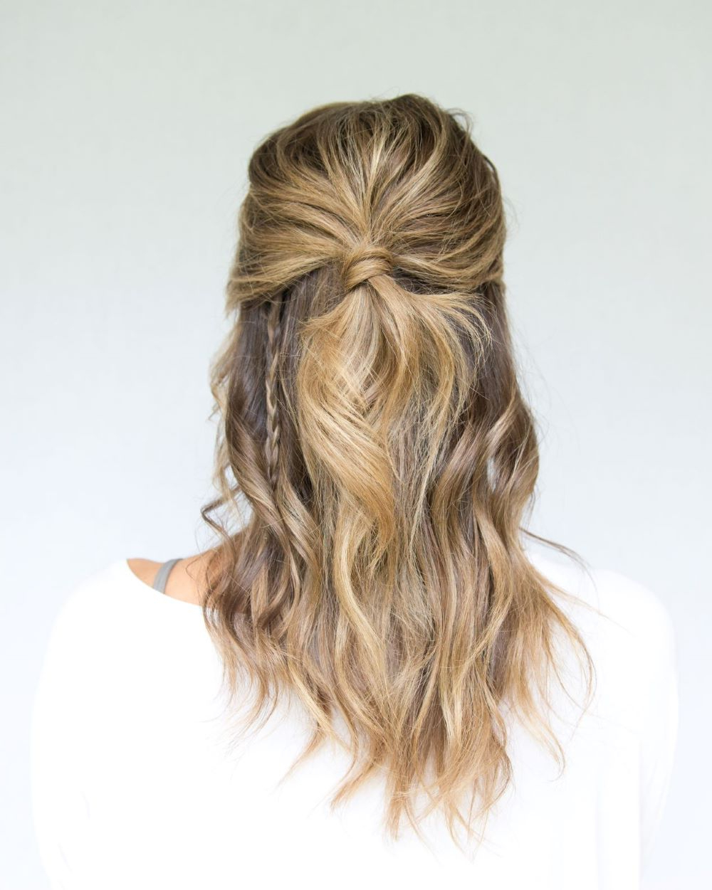 Go Boho This With Half Up Half Down Hairstyle – Lulus Intended For 2020 Boho Half Braid Hairstyles (View 8 of 20)