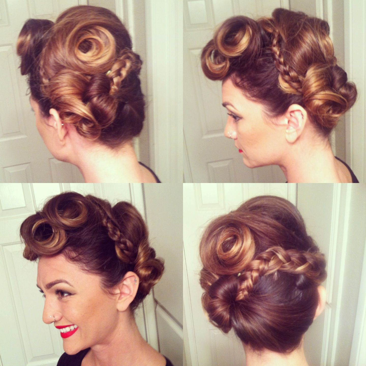 Featured Photo of Vintage Inspired Braided Updo Hairstyles