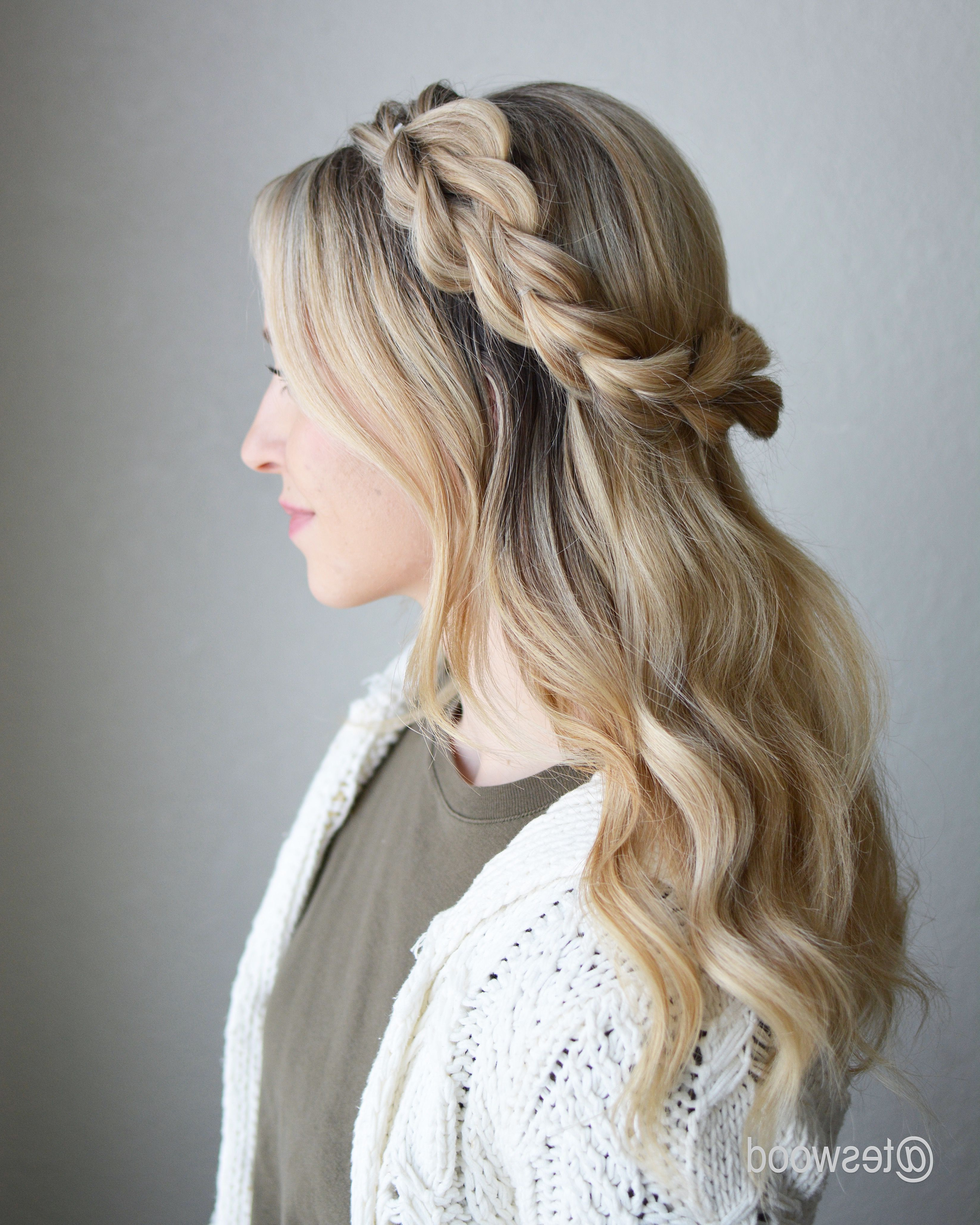 Hair • Heaven In 2019 For 2019 Chunky Crown Braided Hairstyles (Gallery 13 of 20)