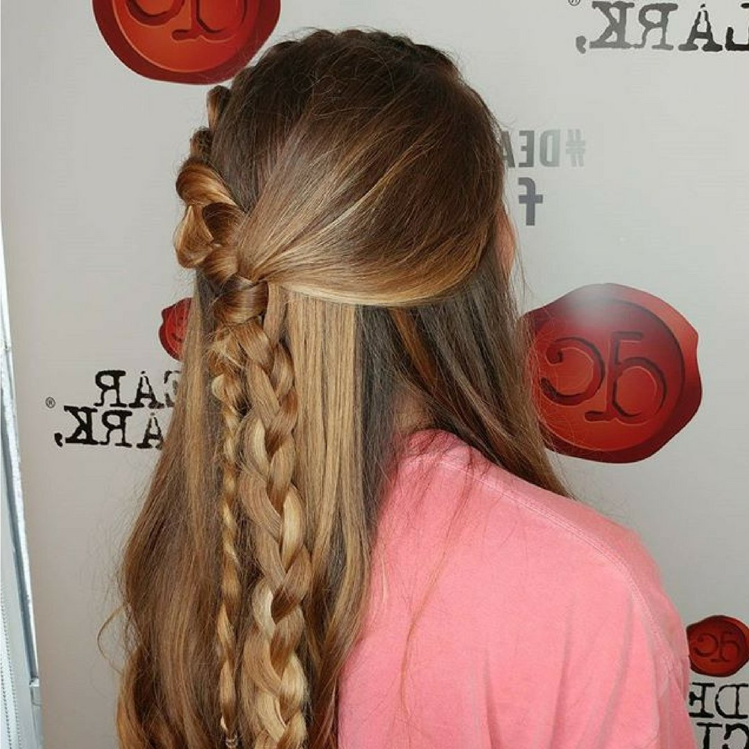 Hair Goals: Five Braid Hairstyles To Try This Summer 2017 Within Best And Newest Oversized Fishtail Braided Hairstyles (View 10 of 20)