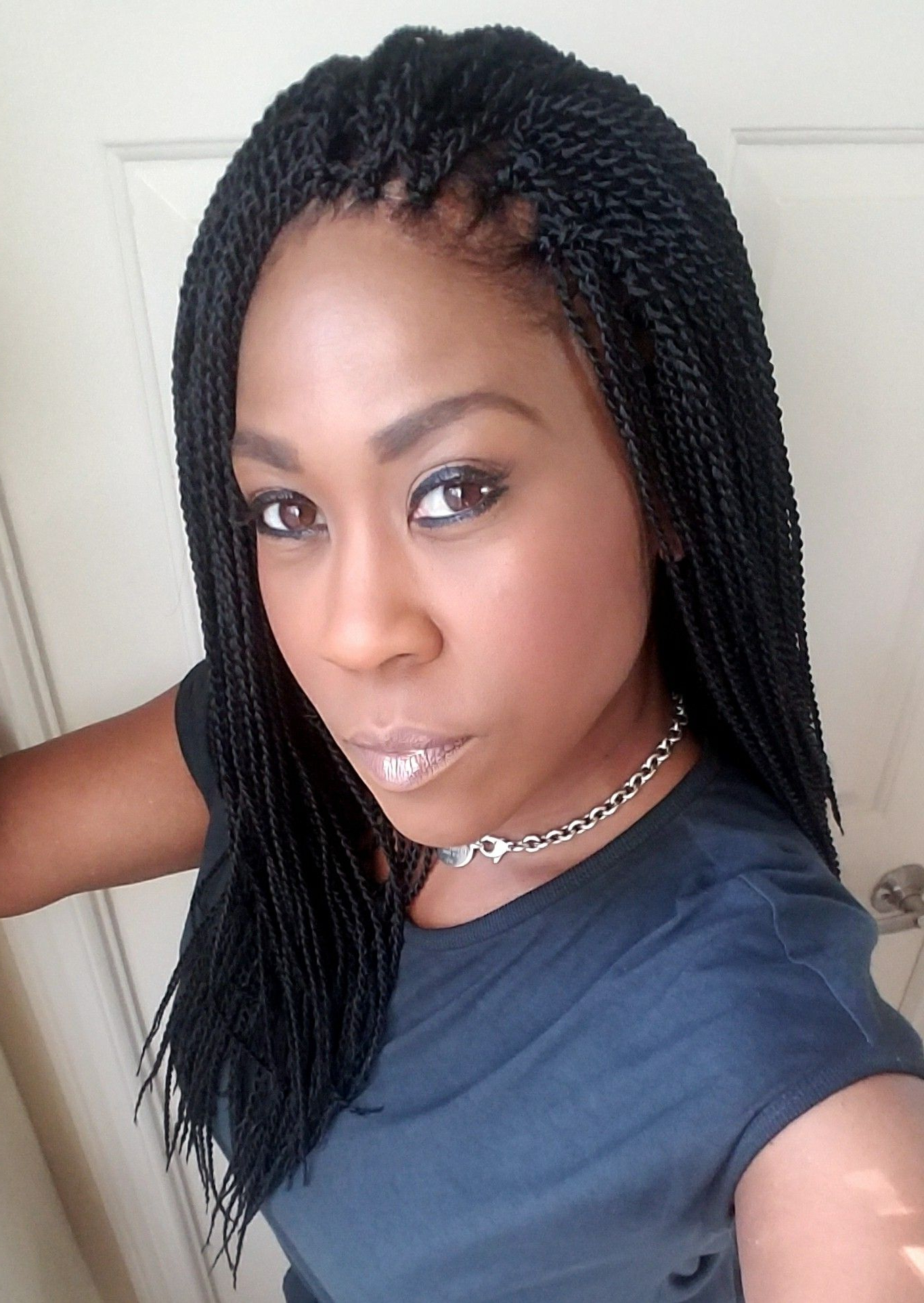 Hair In In Best And Newest Twists Micro Braid Hairstyles With Curls (Gallery 2 of 20)