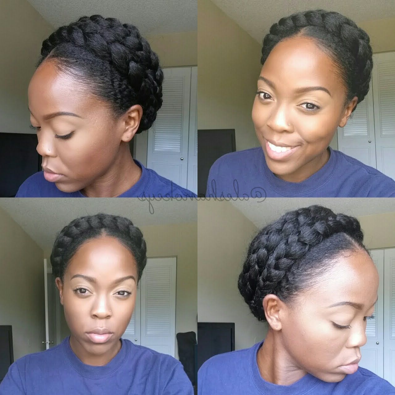 Featured Photo of Faux Halo Braided Hairstyles For Short Hair