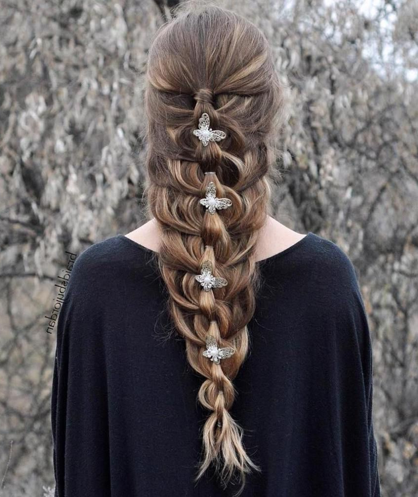 Hair Intended For Current Nostalgic Knotted Mermaid Braid Hairstyles (View 2 of 20)