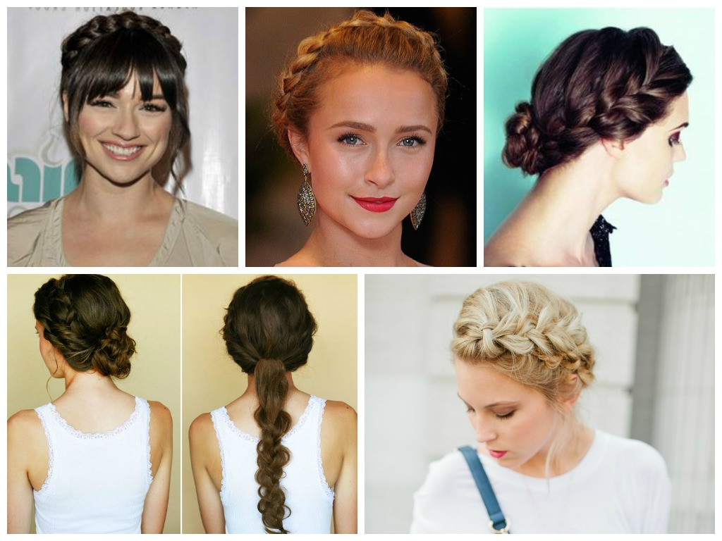 Hair Length Archives – Page 8 Of 11 – Hair World Magazine Inside Current Halo Braided Hairstyles With Bangs (View 7 of 20)