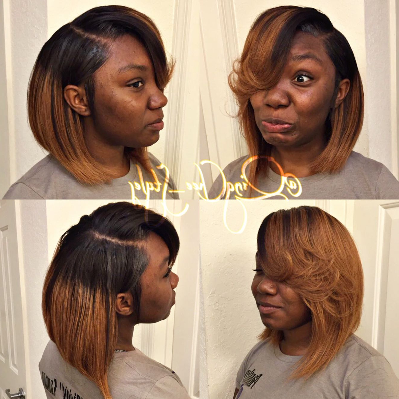 Hair Life, You Bout It? In 2019 Inside Fashionable Side Parted Braided Bob Hairstyles (View 12 of 20)