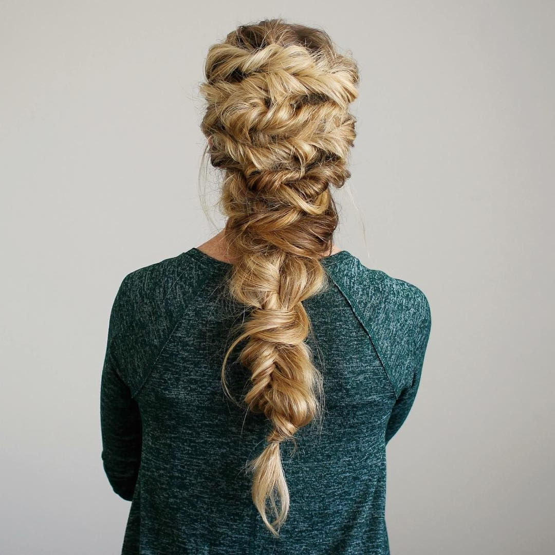 Hair Love! <3 In Pertaining To Fashionable Twisted Mermaid Braid Hairstyles (View 5 of 20)