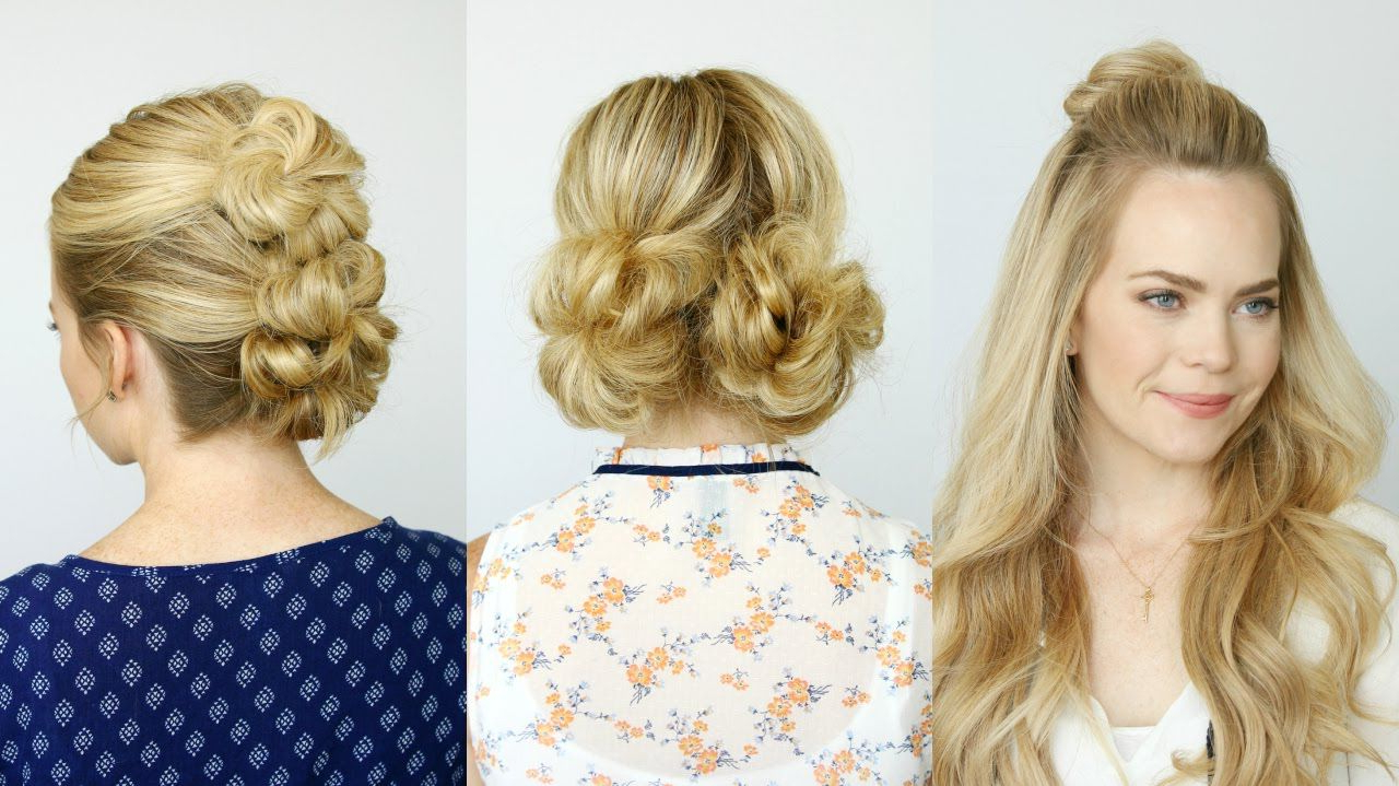 Hair Throughout Recent Double Mini Buns Updo Hairstyles (View 5 of 20)