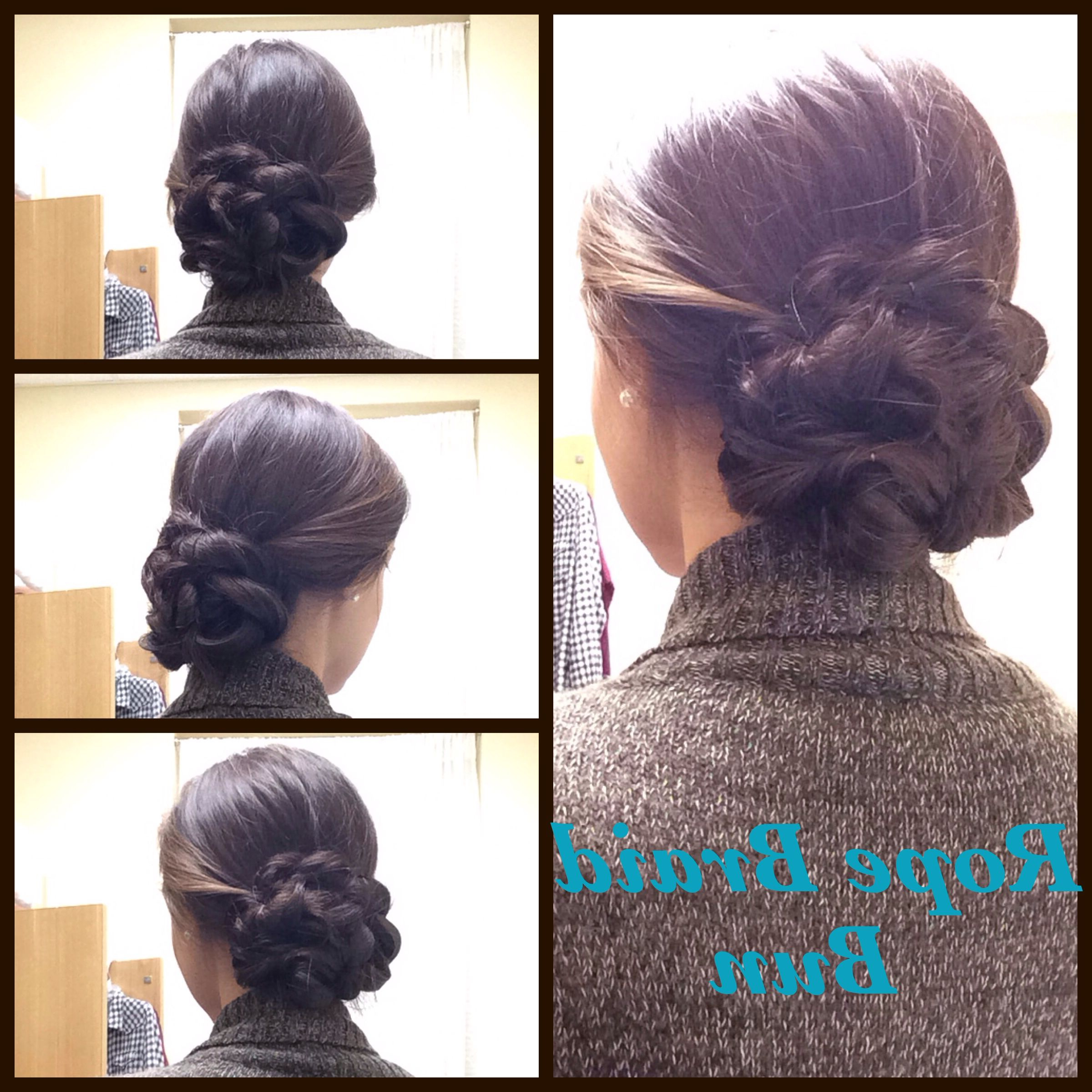 Featured Photo of Double Rapunzel Side Rope Braid Hairstyles
