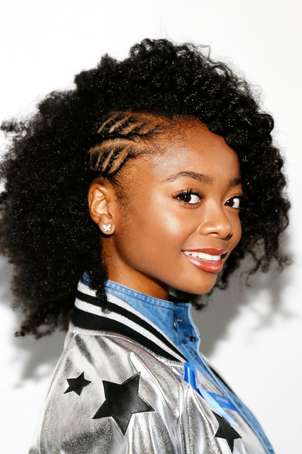 Hairstyles : African Natural Curly Hair Super Amazing 15 Intended For Latest Naturally Curly Braided Hairstyles (Gallery 17 of 20)