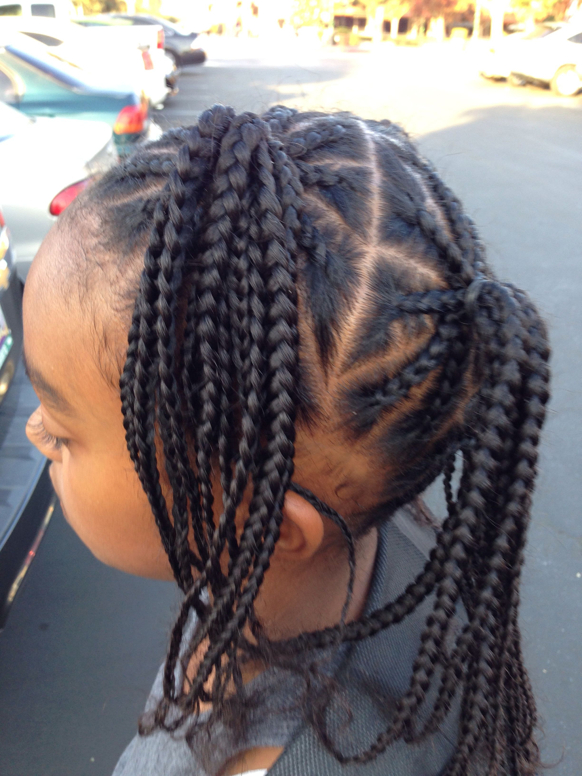 Hairstyles/braids For Kids And (View 2 of 20)