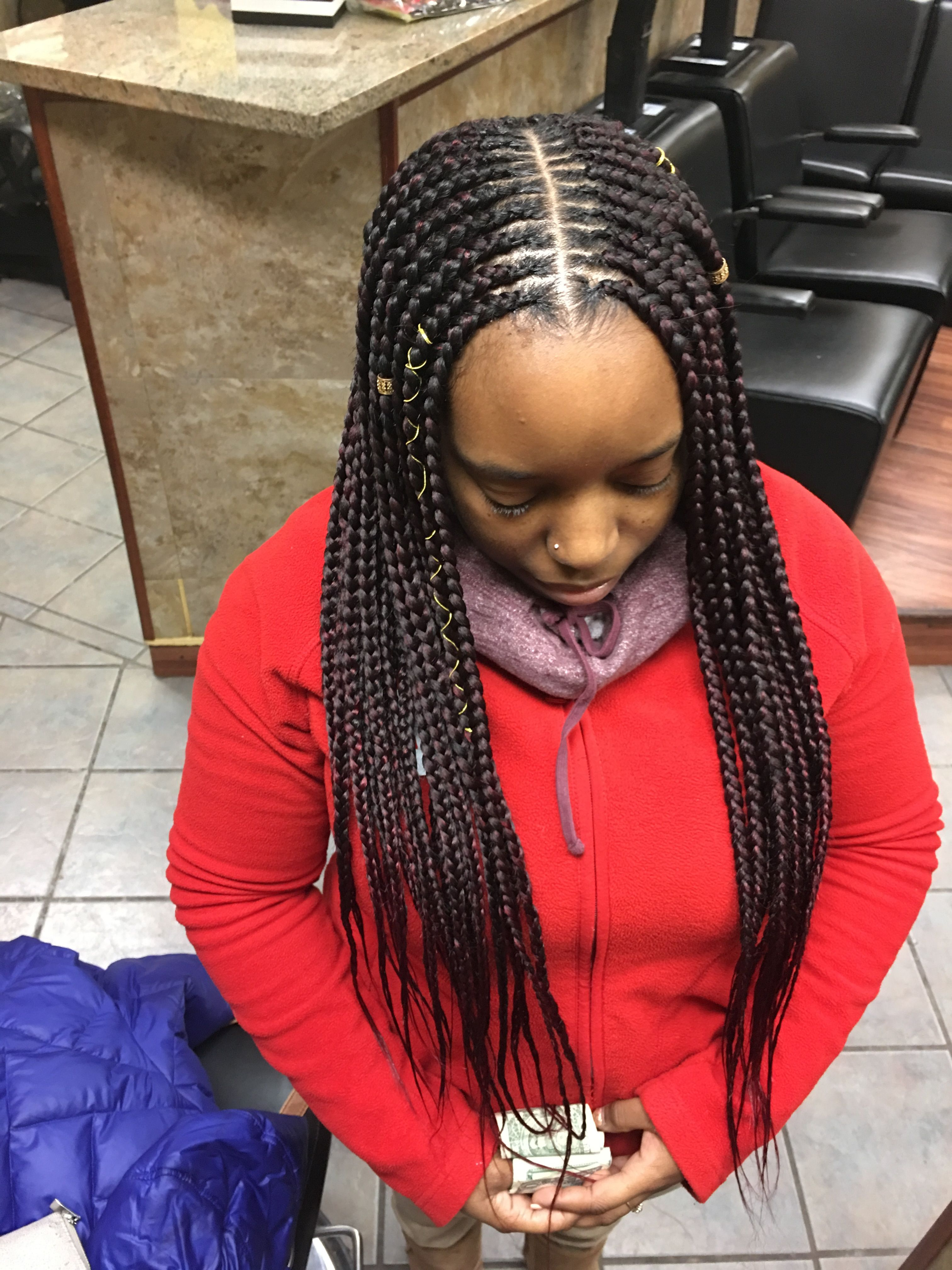 Hairstyles : Chic Braided Bob Hairstyle Extraordinary Small Regarding Most Up To Date Center Parted Bob Braid Hairstyles (View 7 of 20)