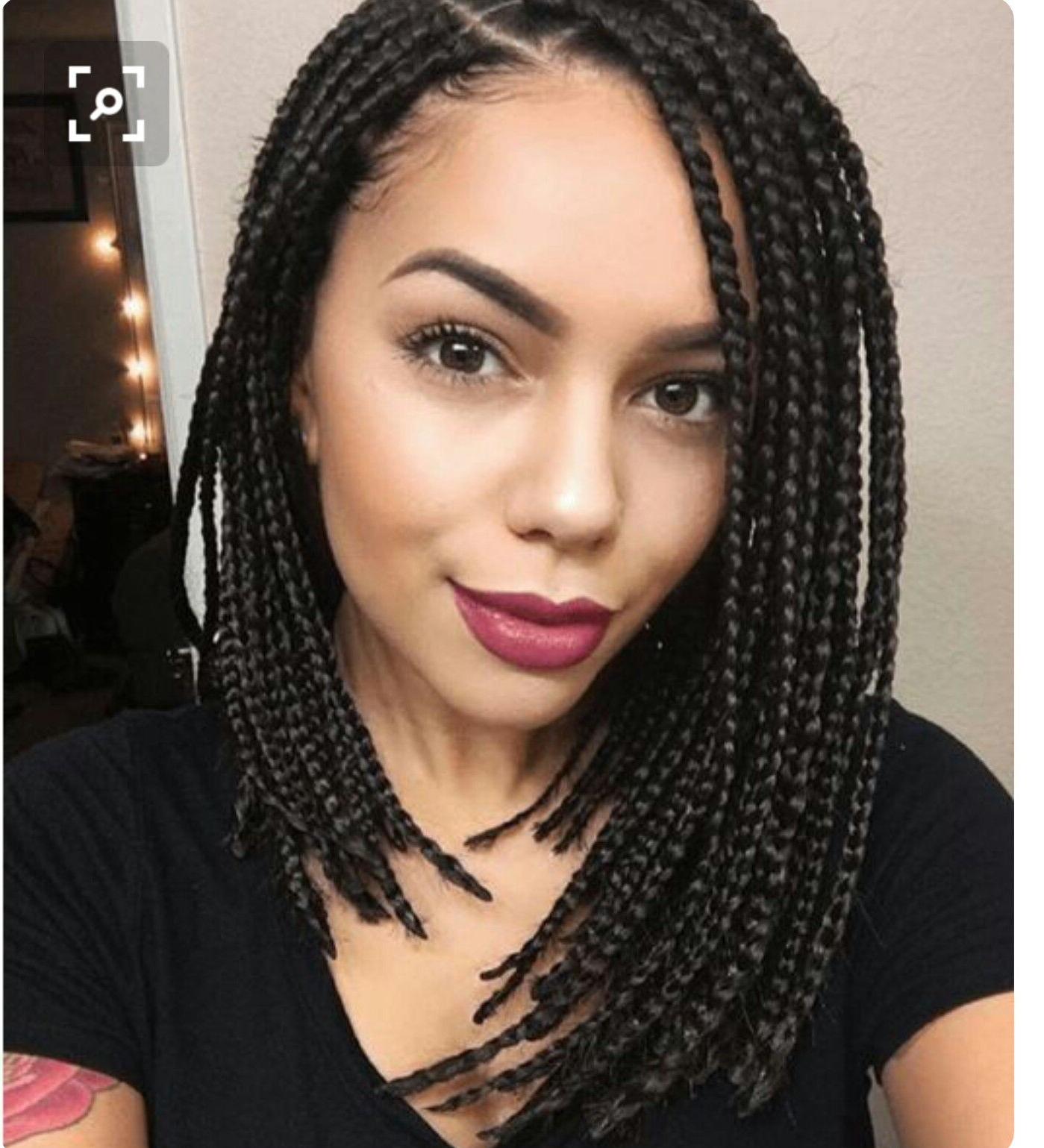 Hairstyles : Chic Braided Bob Hairstyle Gorgeous Short Jumbo In Widely Used Short And Chic Bob Braid Hairstyles (View 3 of 20)