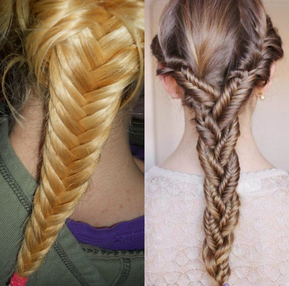 Hairstyles : Cool Fishbone Hairstyles Braids Pictures Regarding Well Known Neat Fishbone Braid Hairstyles (Gallery 4 of 20)