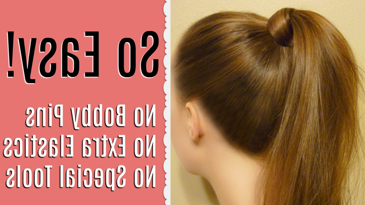 Hairstyles For Girls Intended For Most Recently Released Wrapped Ponytail Hairstyles (View 8 of 20)