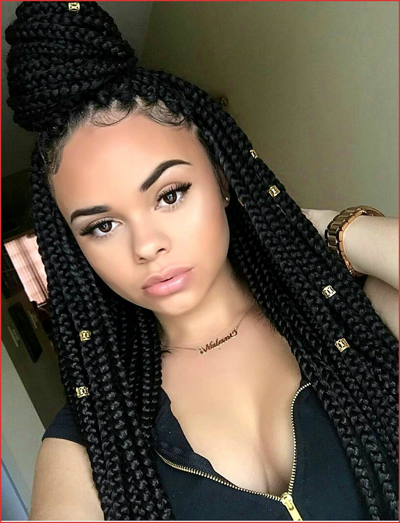 Hairstyles : Long Box Braids Hairstyle Licious Big Box Intended For Trendy Box Braided Hairstyles (Gallery 15 of 20)
