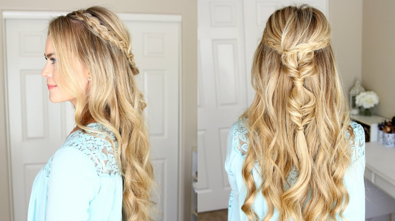 Half Up Dutch Braids And Bubble Fishtails (Gallery 3 of 20)