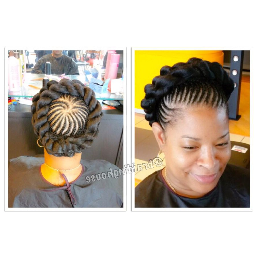 Halo Braids – Crown Braids #summerbraids @braidinghouse For Most Recent Crown Cornrow Braided Hairstyles (View 11 of 20)