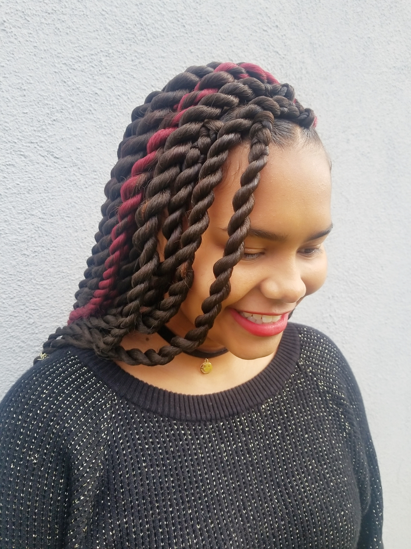 Here's Everything You Need To Know About Getting Braids With Most Popular African Red Twists Micro Braid Hairstyles (View 10 of 20)