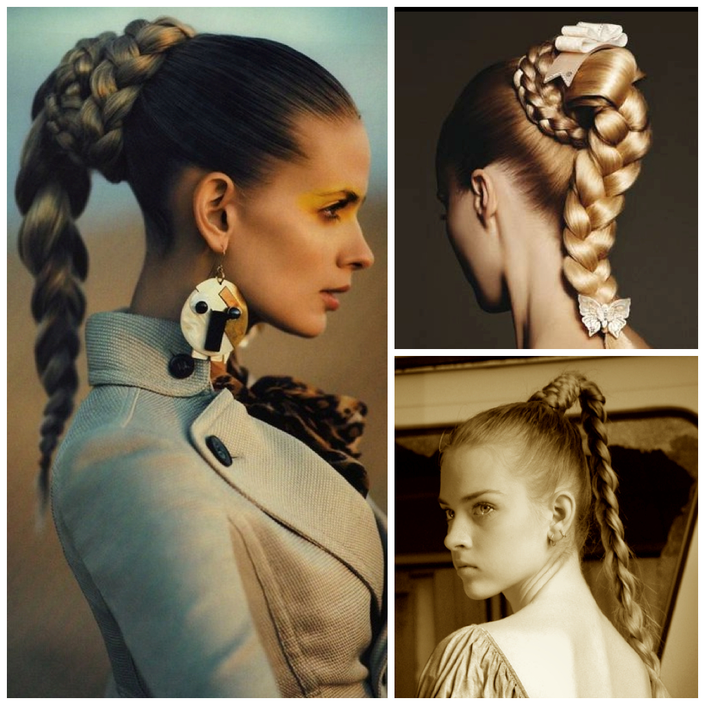Holiday Hair Inspiration: Braided High Ponytail In Most Current High Ponytail Braided Hairstyles (View 12 of 20)