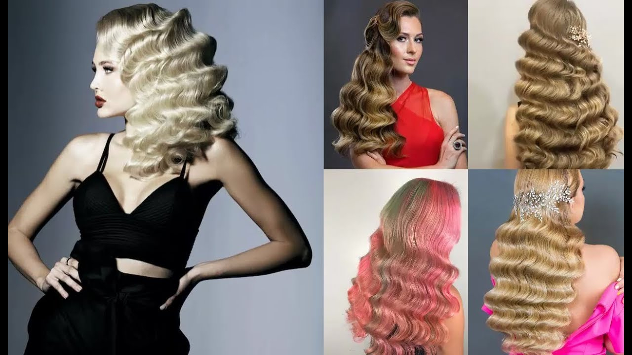 Hollywood Glam Waves (Gallery 8 of 20)