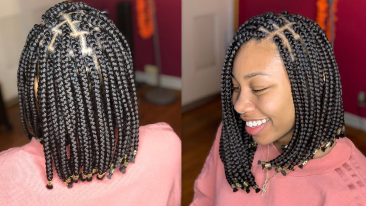 How To: Asymmetrical Braided Bob For Recent Asymmetrical Bob Braid Hairstyles (View 2 of 20)