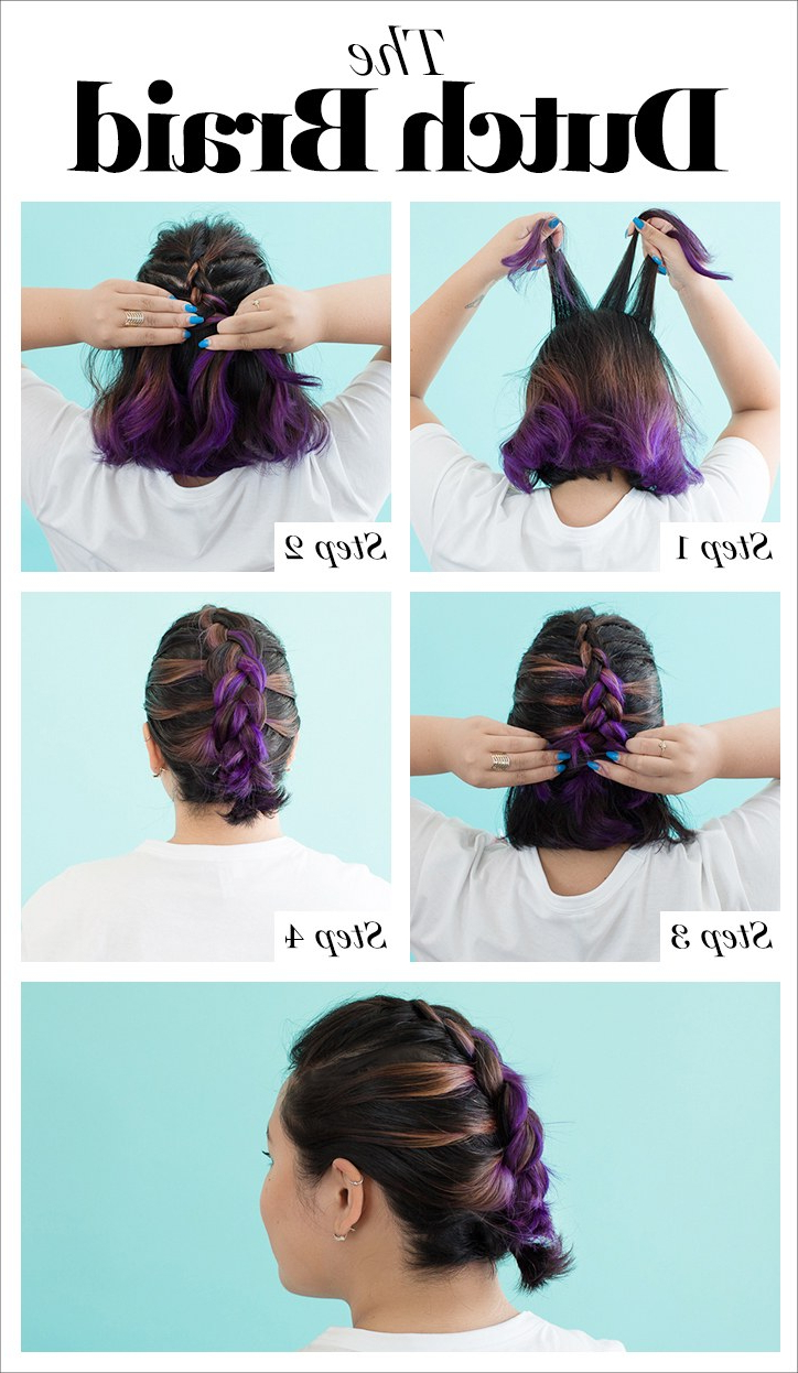 How To Braid Hair – 10 Tutorials You Can Do Yourself (View 9 of 20)