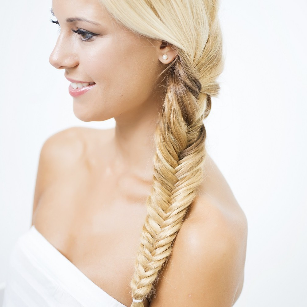 How To Braid Hair Stepstep – Superdrug Pertaining To Recent Elegant Blonde Mermaid Braid Hairstyles (Gallery 12 of 20)