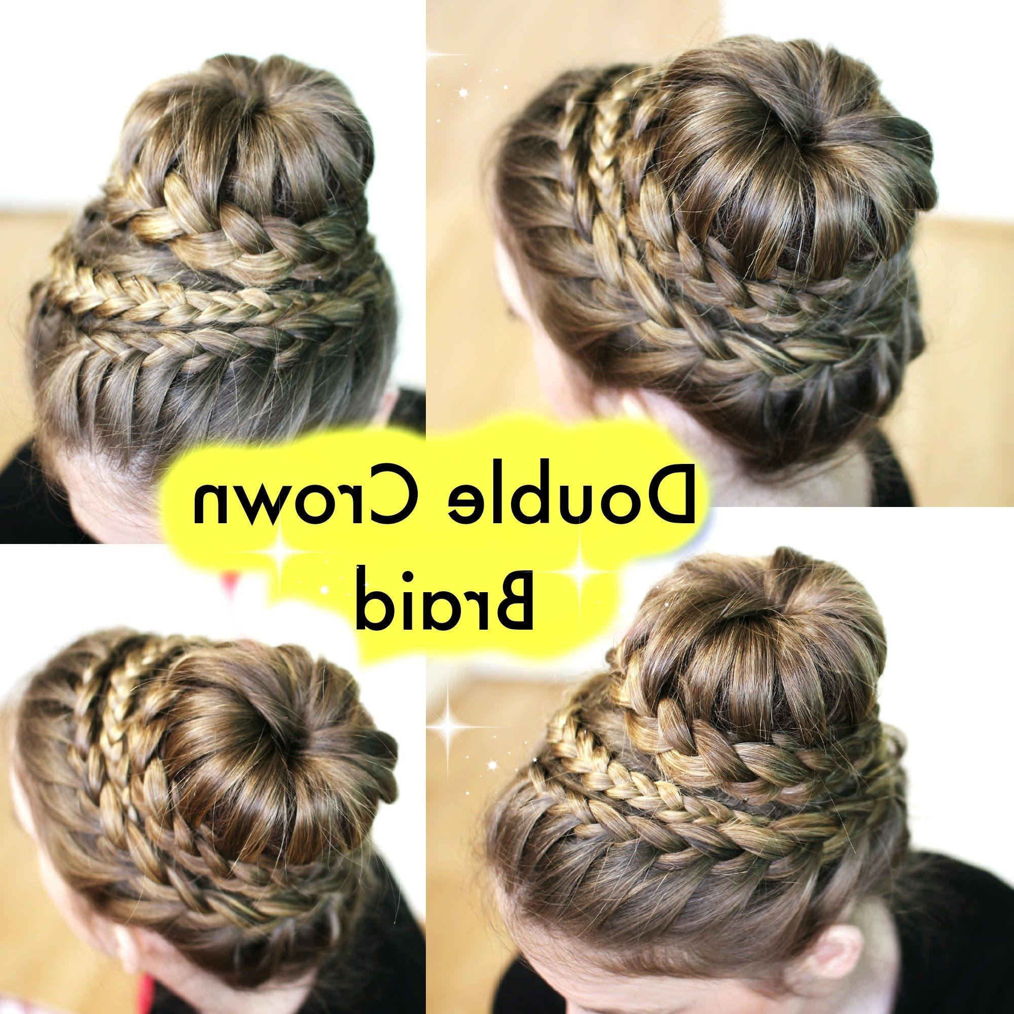 How To : Crown Braid Hair Tutorial (View 11 of 20)