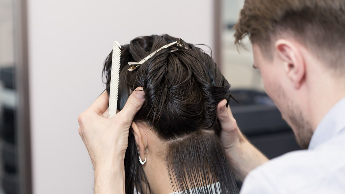 How To Cut Hair To Make It Curve Under Intended For Preferred Angled Braided Hairstyles On Crimped Hair (View 13 of 20)